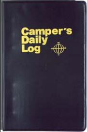 CDL Campers Daily Log Book/ Journal Campers Log