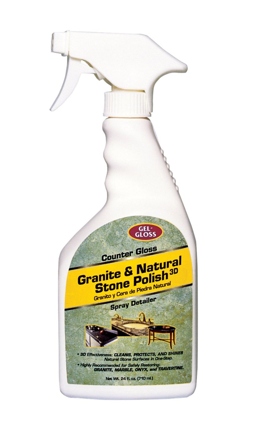 CG-24 TR Industry/ Gel Gloss Countertop Cleaner For Cleaning Granite/