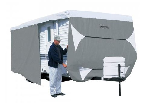 73263 Classic Accessories RV Cover For Travel Trailers
