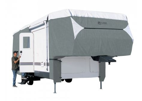 75963 Classic Accessories RV Cover For Fifth Wheel Trailers