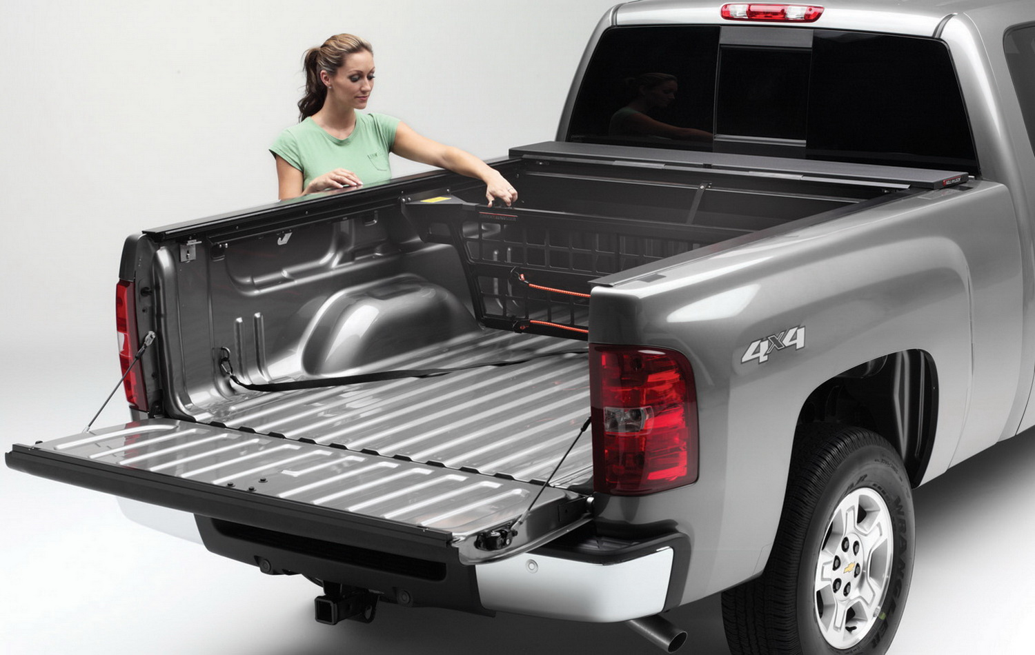 CM221 Roll-N-Lock Bed Cargo Divider Works With Roll N Lock