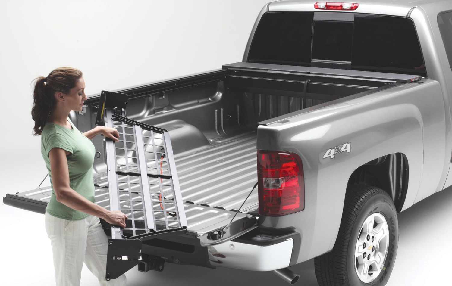 CM220 Roll-N-Lock Bed Cargo Divider Works With Roll N Lock
