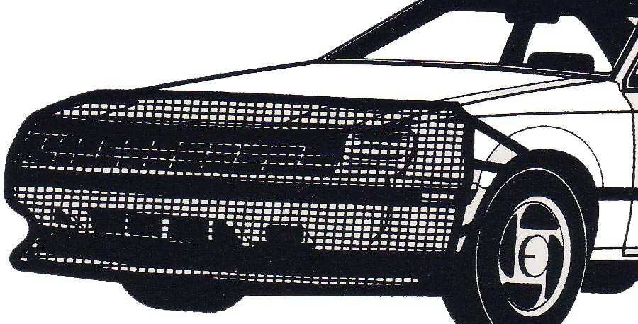 VS301 Fia Bug Screen - Front End Universal 20 Inches Inches Height X