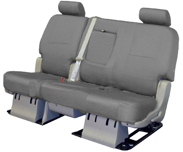 CSC1L3RM1018 Coverking Seat Cover Bench With 3 Removable Headrests