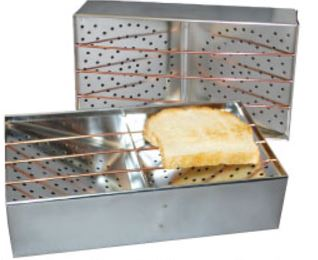 CT-1 Camp-A-Toaster Toaster Toasts 2 Pieces Of Bread