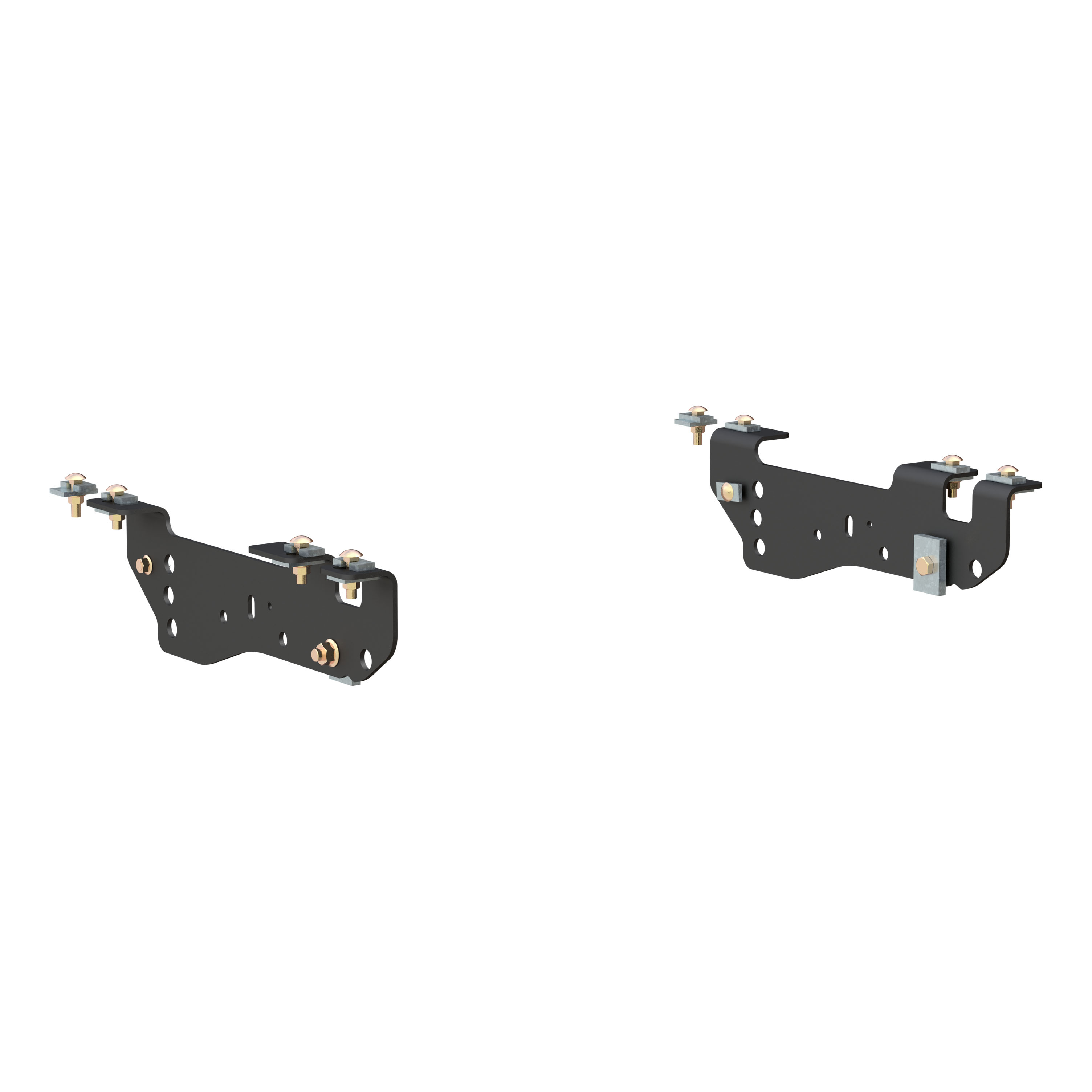 16448 CURT Custom 5th Wheel Brackets