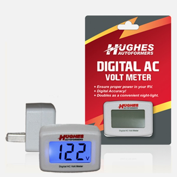 DVM1221 Hughes Auto Line Voltage Monitor Provides A Continuous And