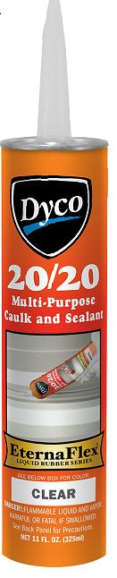 DYC2020C/T20 Dyco Paints Caulk Sealant Used With Metal Buildings/