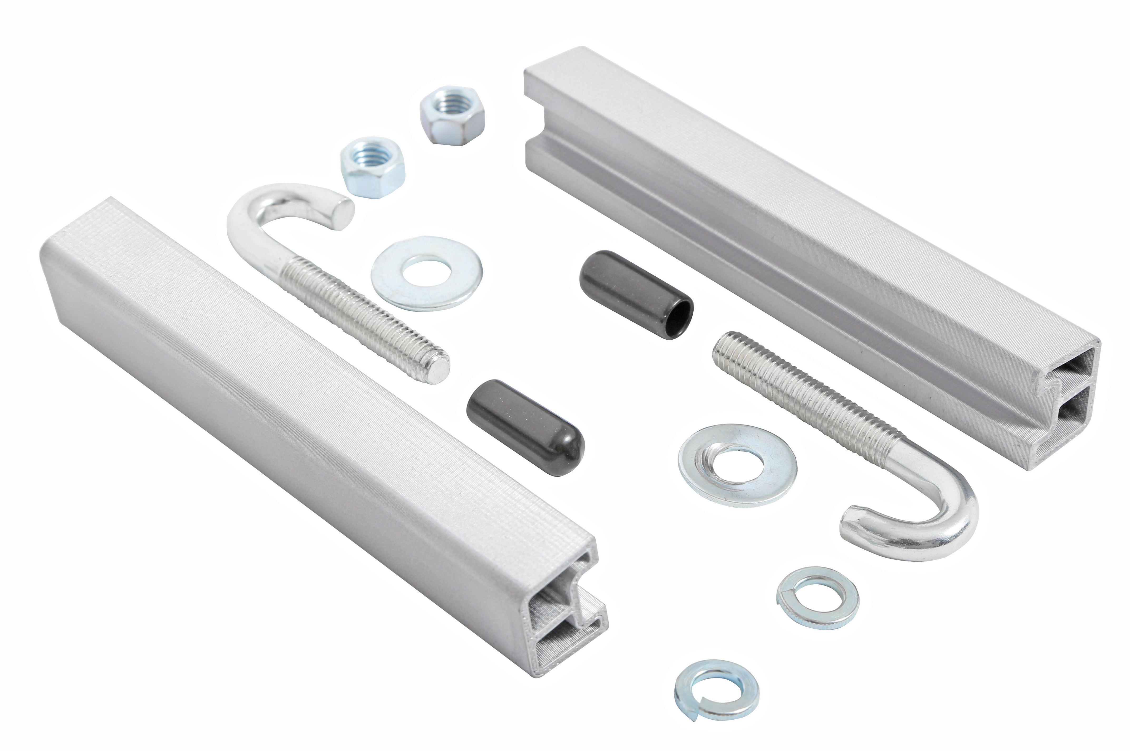 DZ97910 Dee Zee Tool Box Mounting Kit Includes Pair of Aluminum