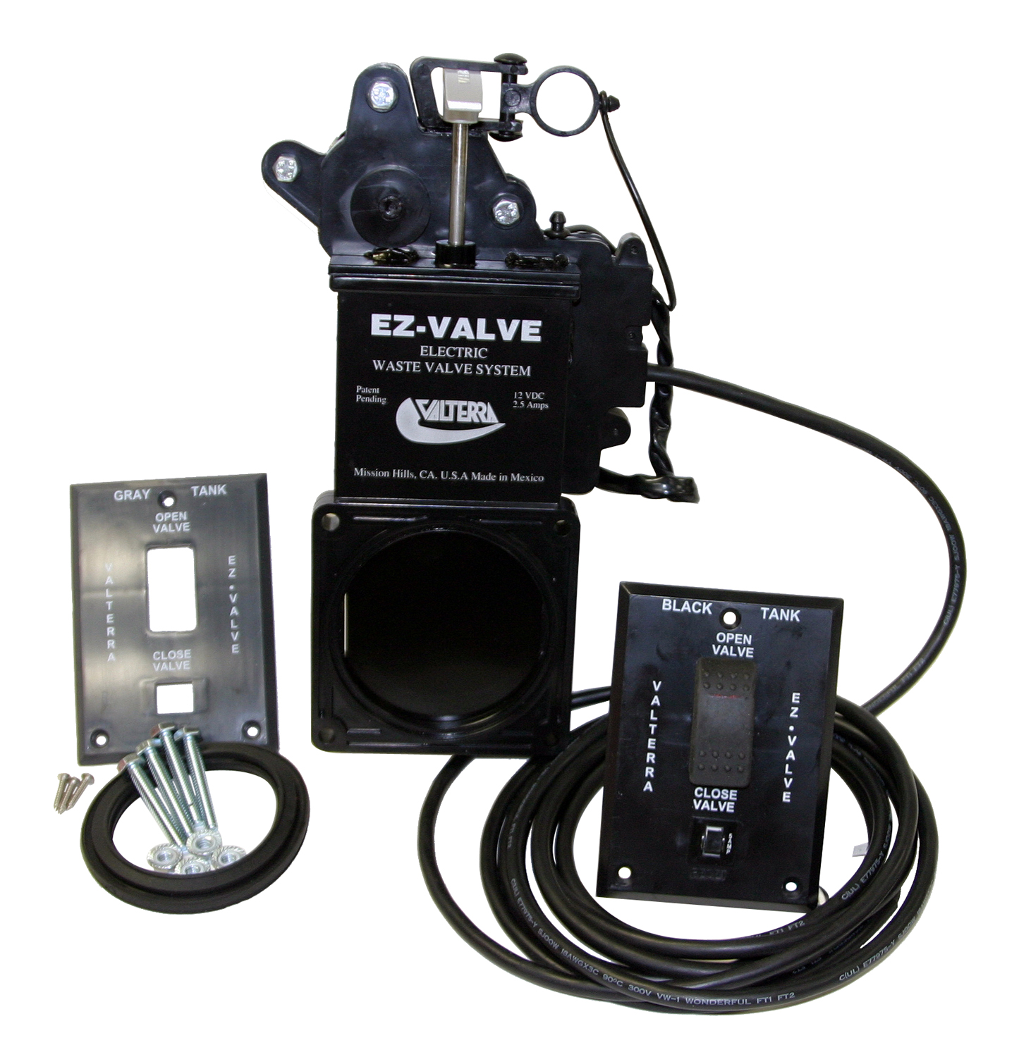 E1003VP Valterra Sewer Waste Valve Waste Valve For RV Black Water