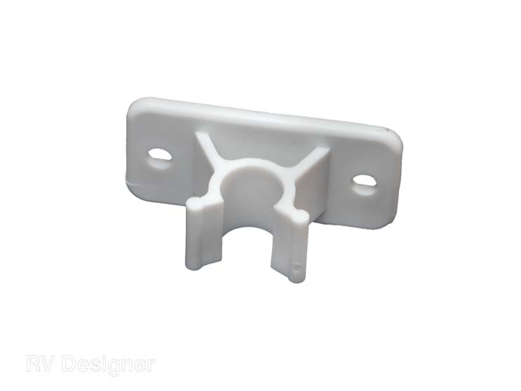 E242 RV Designer Door Holder Insert Use With RV Designer C-Clip Door
