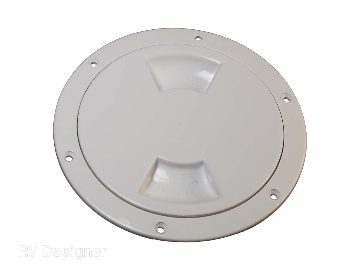 E575 RV Designer Access Door 5 Inch Inside Diameter