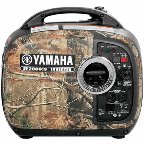 EF2000ISCH Yamaha Power Products Generator Power Camouflage Inverter
