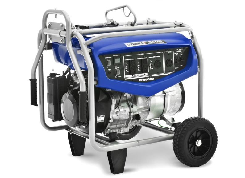 EF5500D Yamaha Power Products Generator Power Brushless, Condenser