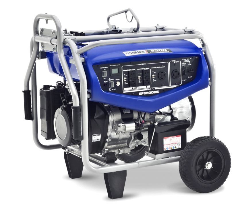 EF5500DE Yamaha Power Products Generator Power Brushless