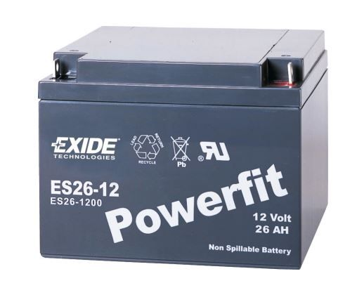 ES26-12 Exide Technologies Battery OE Replacement