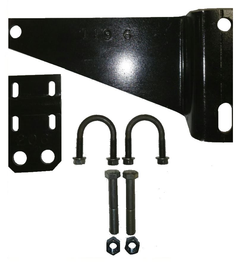F-119K2.5 Safe-T-Plus Steering Stabilizer Bracket With Anchor