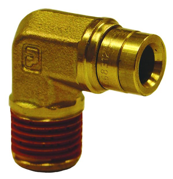 3031 Firestone Industrial Adapter Fitting 1/4 Inch NPT to 1/4 Inch PTC