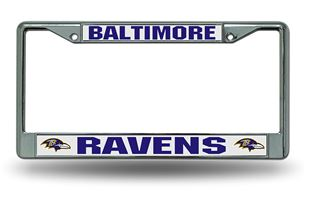 FC0704 PowerDecal License Plate Frame Baltimore Ravens