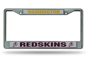 FC1001 PowerDecal License Plate Frame Washington Redskins