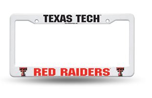 FC260802 PowerDecal License Plate Frame Texas Tech Red Raiders
