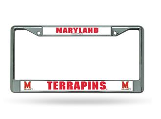 FC320201 PowerDecal License Plate Frame Maryland Terrapins