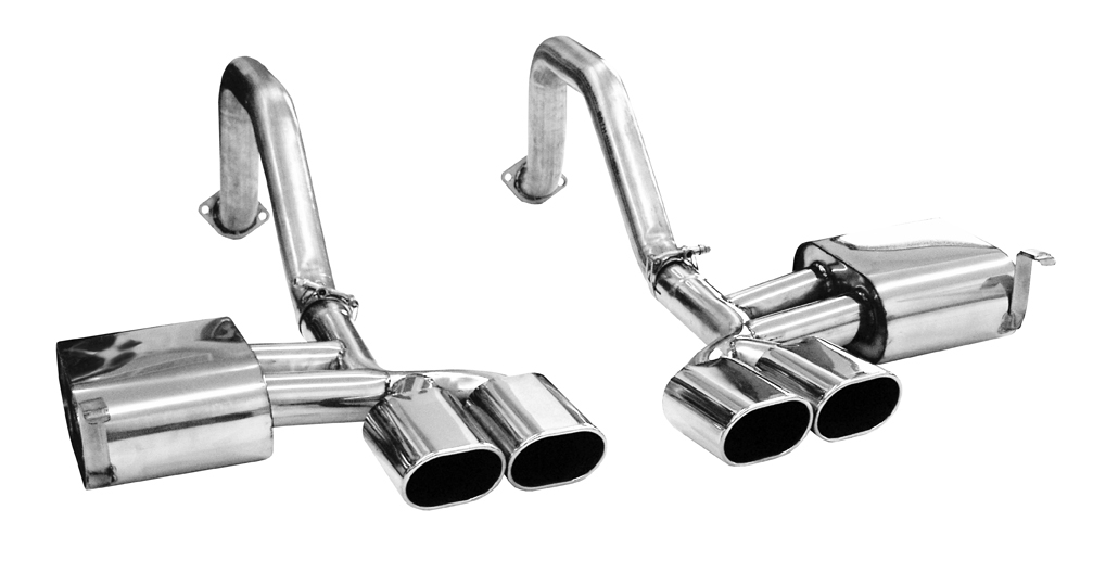 FCOR-0205 B&B Exhaust (Billy Boat) Exhaust System Kit Stainless Steel