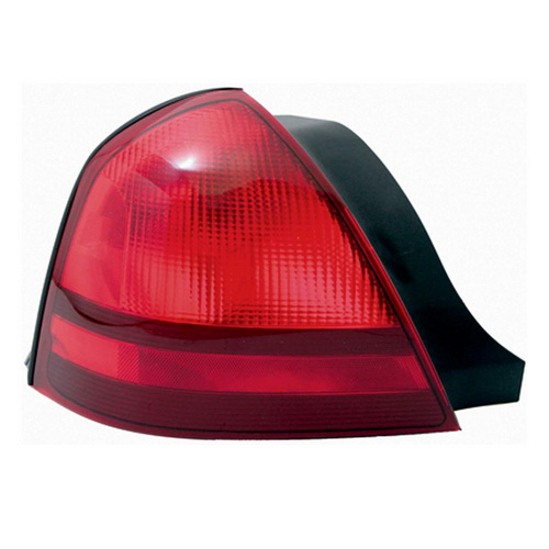 FO2800173 Pilot Crash (Lighting/Mirrors) Tail Light Assembly Red Lens