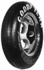 D1445 Goodyear Tire Race Front Runner 22.0X2.5-17