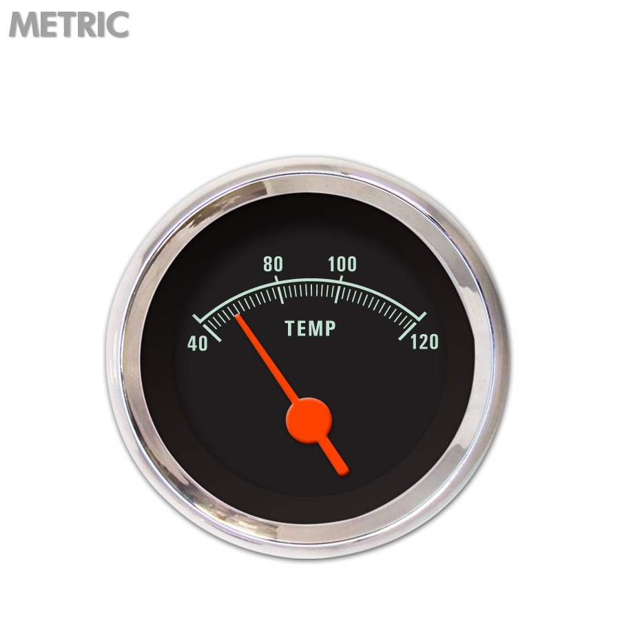GAR2106ZMXLABAH Aurora Industries Gauge Water Temperature 1.8 Inch