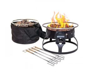 GCLOGD Camp Chef Fire Pit Uses 20 Pound Portable Propane Cylinder
