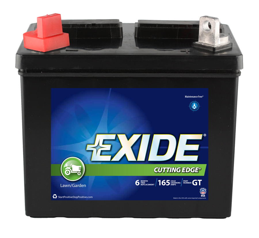 GT Exide Powersport Battery OE Replacement
