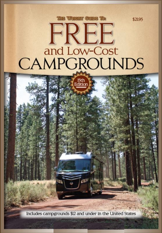 GTF15 Cottage Publishing Book Guide To United States Free Campgrounds