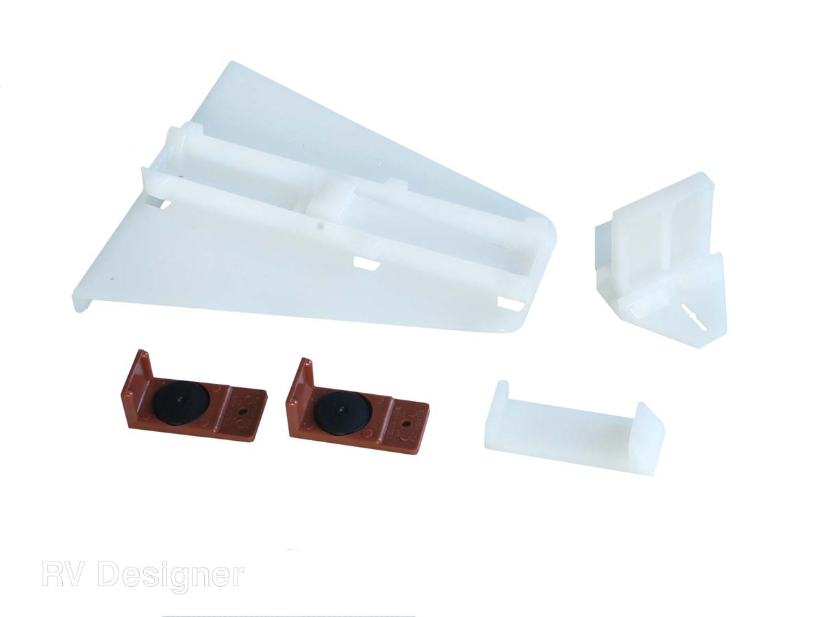 H310 RV Designer Drawer Track Guide For Use With Delta Guide Drawer