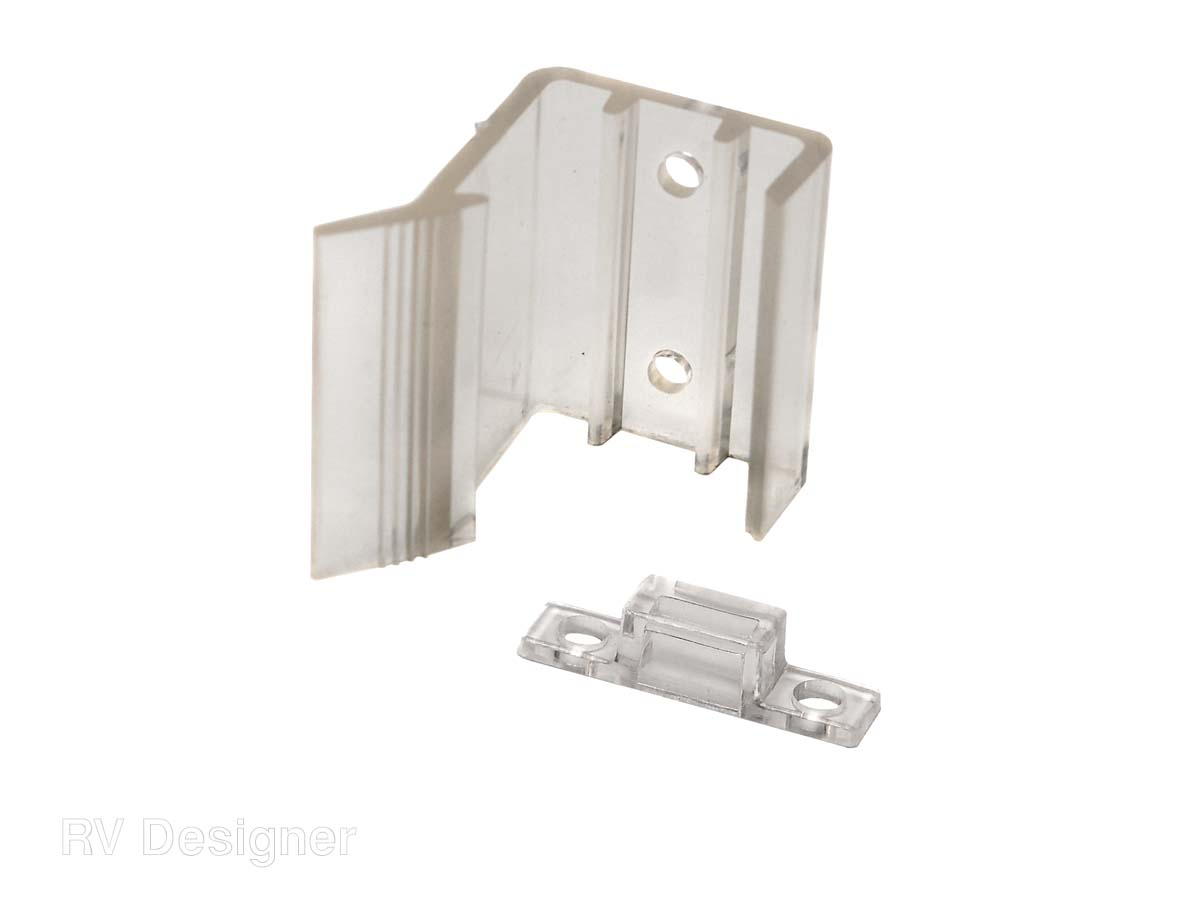 H527 RV Designer Door Catch Use To Keep Sliding Mirror Doors Closed