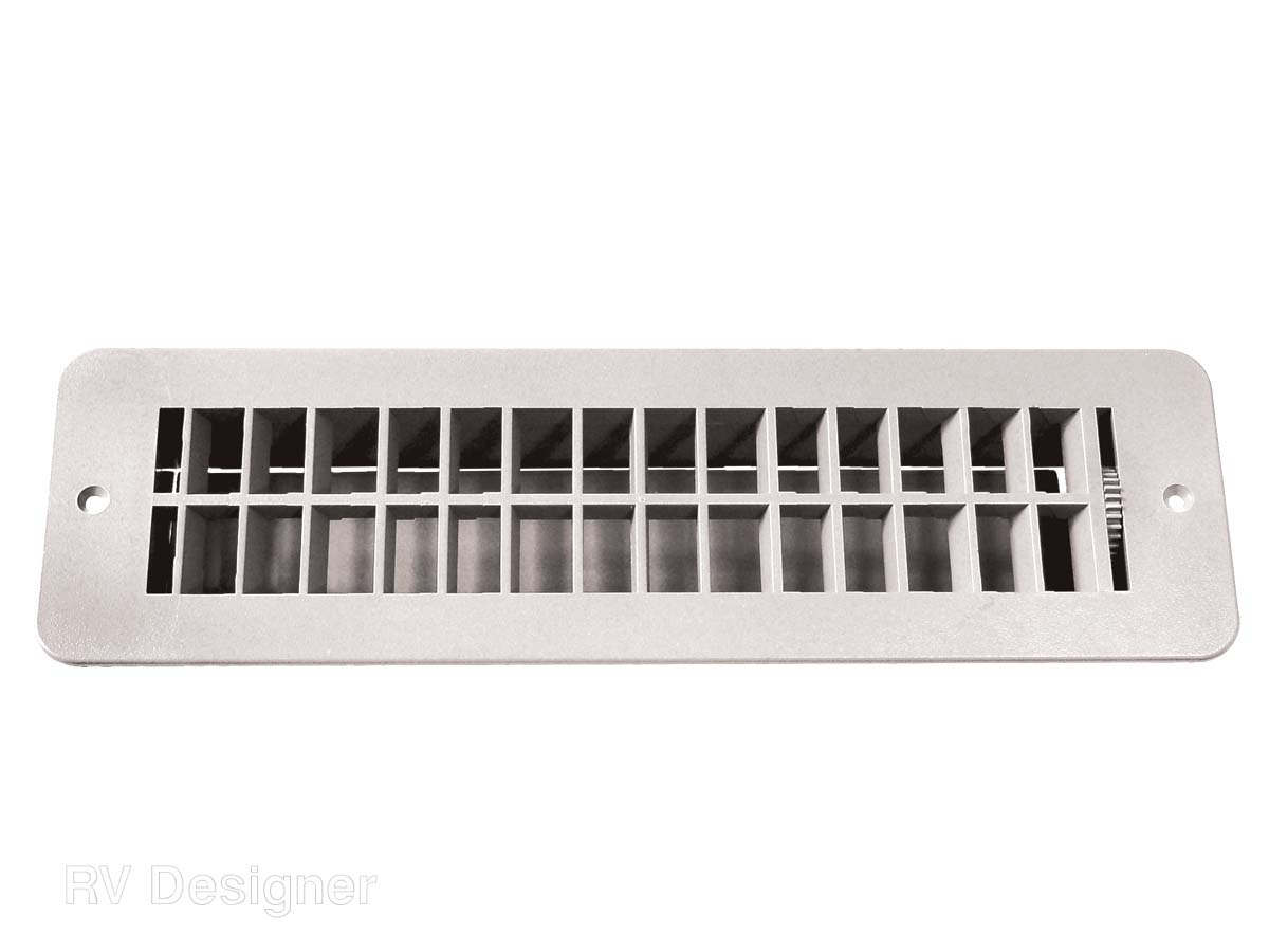 H850 RV Designer Heating/ Cooling Register Floor Mount