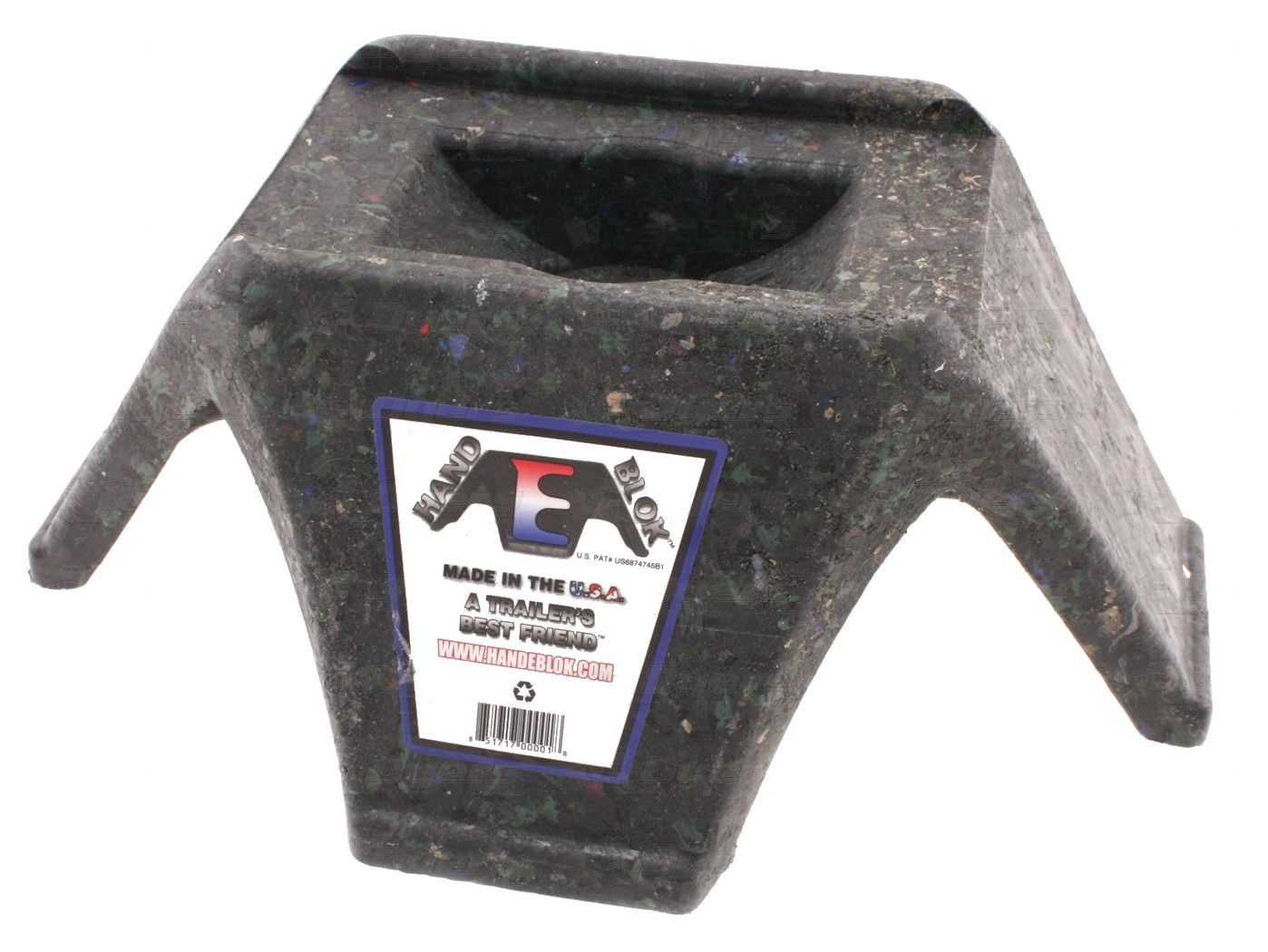HB-200401 Hand-E-Blok Trailer Stabilizer Jack Stand Use To Stabilize