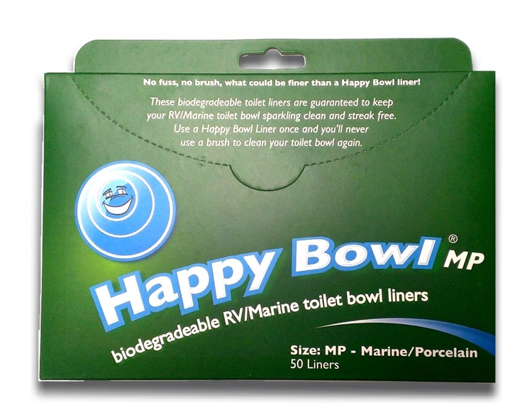 HB1212-MP Happy Bowl Toilet Bowl Liner Used To Keep RV And Marine