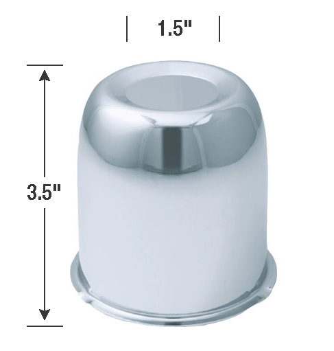HC201 Gorilla Wheel Center Cap 3-1/4 Inch Diameter