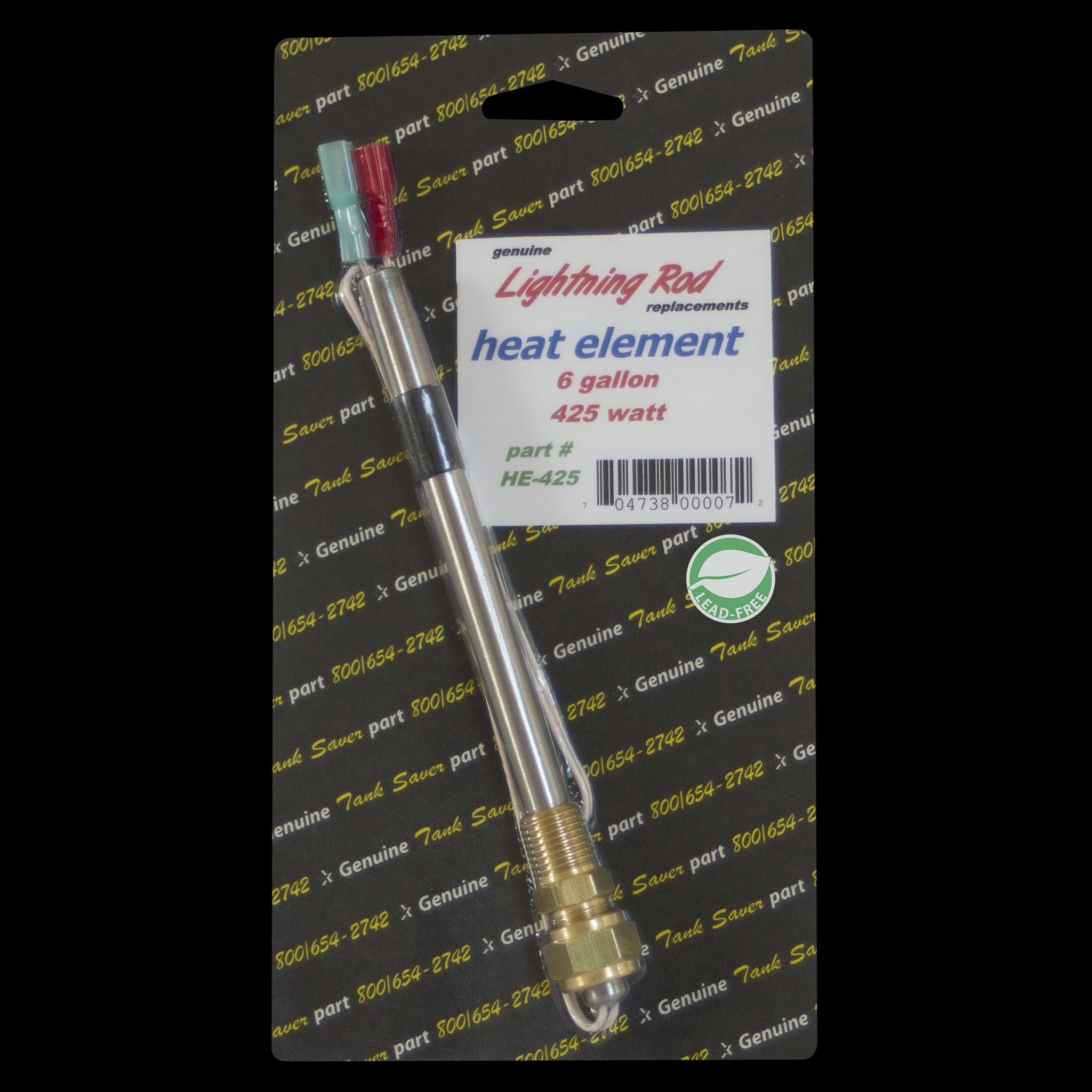 HE-425 Western Leisure Products Inc Water Heater Element Universal