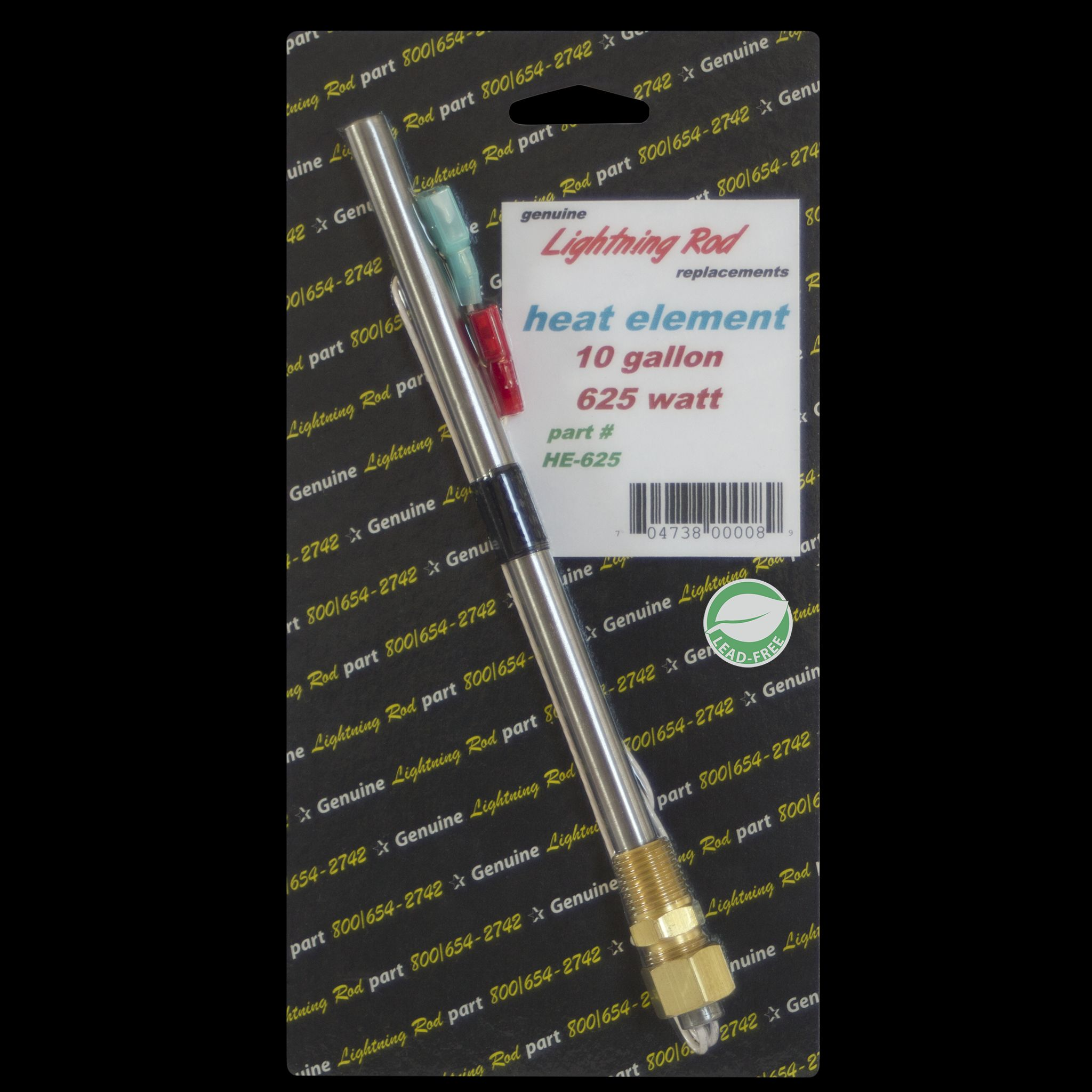 HE-625 Western Leisure Products Inc Water Heater Element Universal