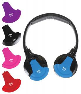 HP34C Boss Audio Headphones Use With All Video Monitors Equipped With