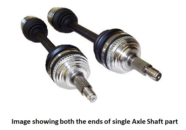 HY4001L0 Driveshaft Shop Axle Shaft Use With K-Series Swap Using K20