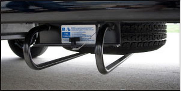 28218B BAL RV Products/ Adnik Spare Tire Carrier I-Beam Underslung