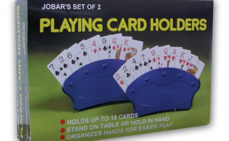 JC673 Jobar Playing Card Holder Hand Held And Table Mount