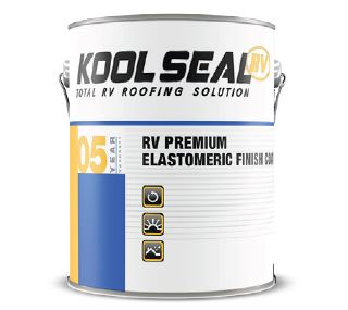 KSRV08600-14 KST Coating Roof Coating Use To Protect RV Roof/ 1 QUART