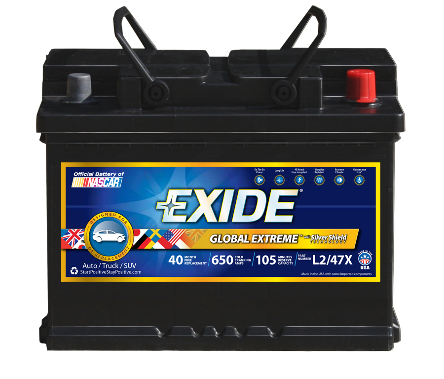 L2/47C Exide Technologies Battery OE Replacement