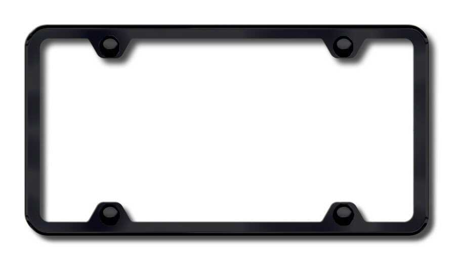 LF.451.B Automotive Gold License Plate Frame 4-Hole