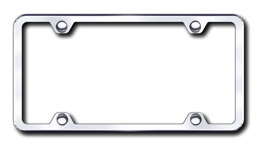 LF.451.C Automotive Gold License Plate Frame 4-Hole