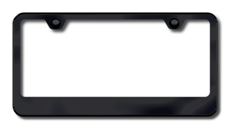 LF.462.B Automotive Gold License Plate Frame Wide Bottom